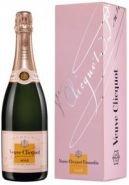 Шампанское Вдова Клико Розовое подарочная упаковка 0,75 л