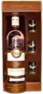 Водка Белуга Аллюр подарочная упаковка кожа + 3стакана 0,7 л