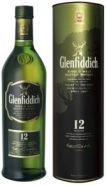 Виски Гленфиддик 12 лет туба 0,5 л