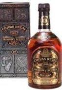 Виски Чивас Ригал 12 лет подарочная упаковка 1 л
