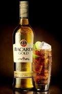 Ром Бакарди Голд 0.75+ стакан