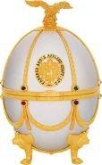 Водка Императорская коллекция графин-яйцо (бел) 0.75