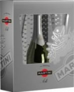 Игр. вино Мартини Просеко набор 4х0,2 п/у